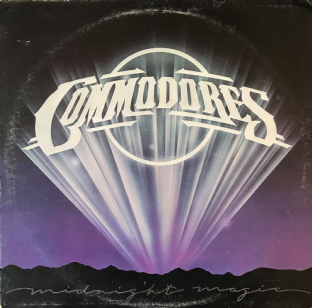 Commodores ‎- Midnight Magic (LP) (VG/G)
